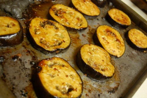 Asian broiled eggplant