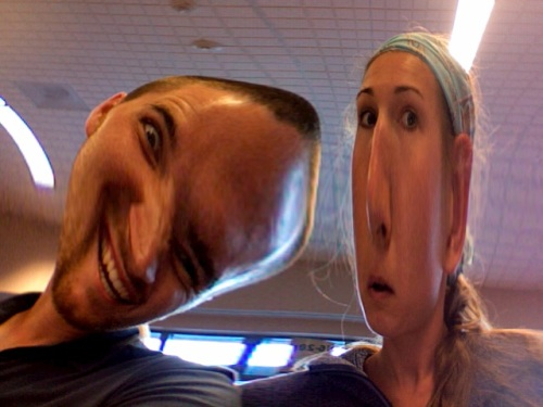 Stephen and Hannah distorted