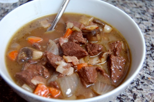 bowl of stew
