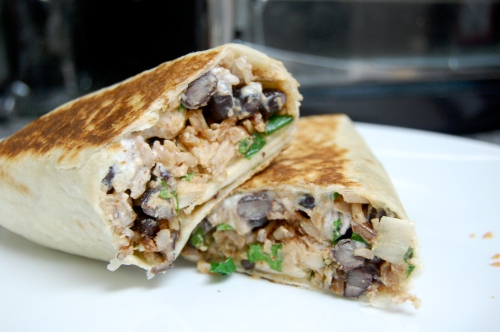 southwest chicken wrap