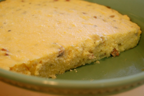 Cheesy grits casserole