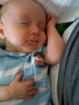 sleeping baby superpower
