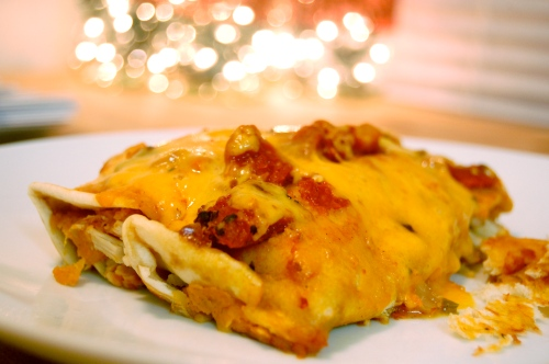 Turkey And Sweet Potato Enchiladas