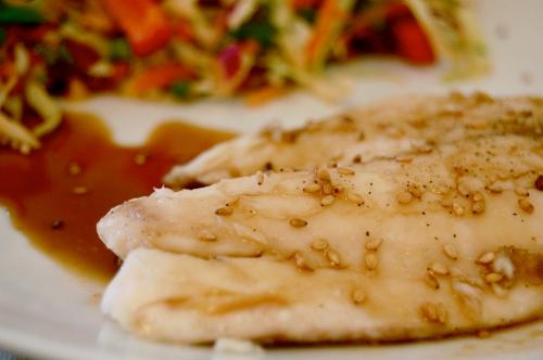 Tilapia Fish Teriyaki - bonjourHan.com