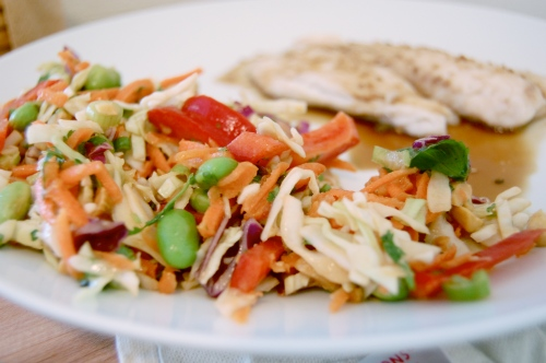 Asian Slaw Recipe - bonjourHan